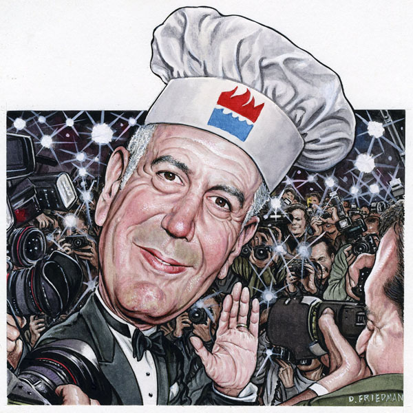 Anthony Bourdain - Kitchen Confidential