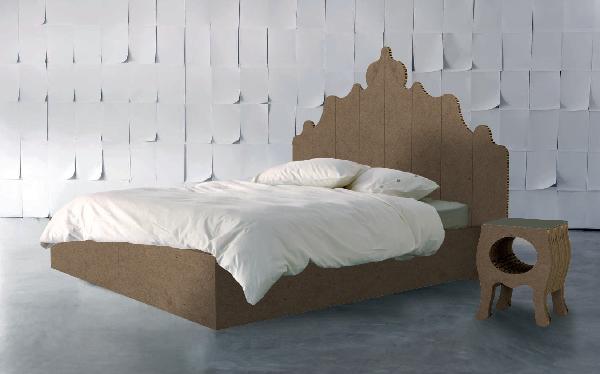 evve carboard bed