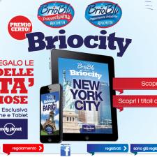 Briocity: un progetto di acqua Rocchetta e Lonely Planet