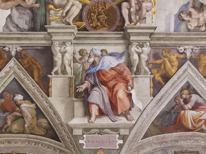 Cappella Sistina OSRAM Ezechiele
