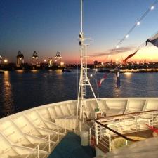 Su una nave con James Blunt