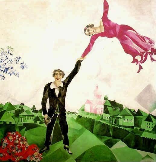 Chagall - La Promenade