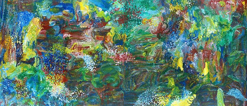 Emily Kame Kngwarreye – Earth's Creation, 1994