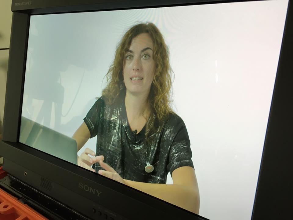Mentre registro il 'Digital PR' per la Digital School di Mondadori