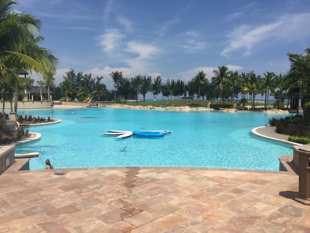 La piscina 'Lagoon'