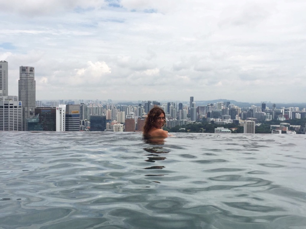 L'Infinity Pool del Marina Bay Sands