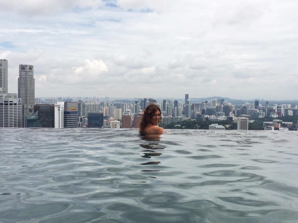 L'Infinity Pool del Marina Bay Sands