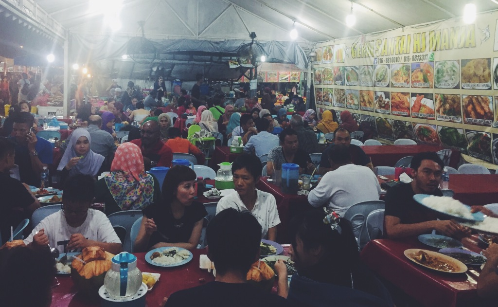 Il Night Market di Kota Kinabalu