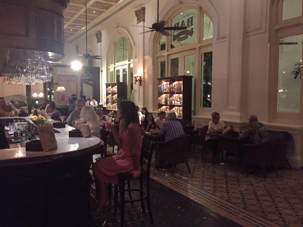 Il bar del Raffles Hotel