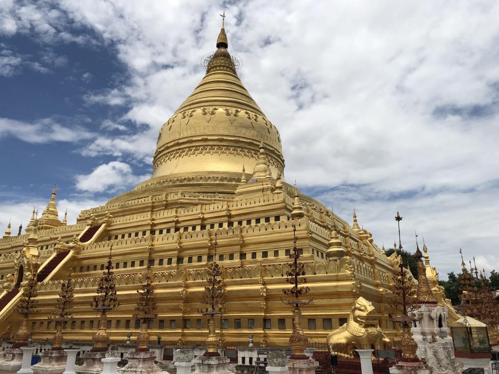 Bagan Pagoda di Shwezigon