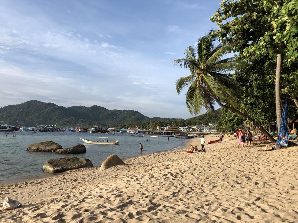 La spiaggia del Sensi Paradise Beach a Koh Tao