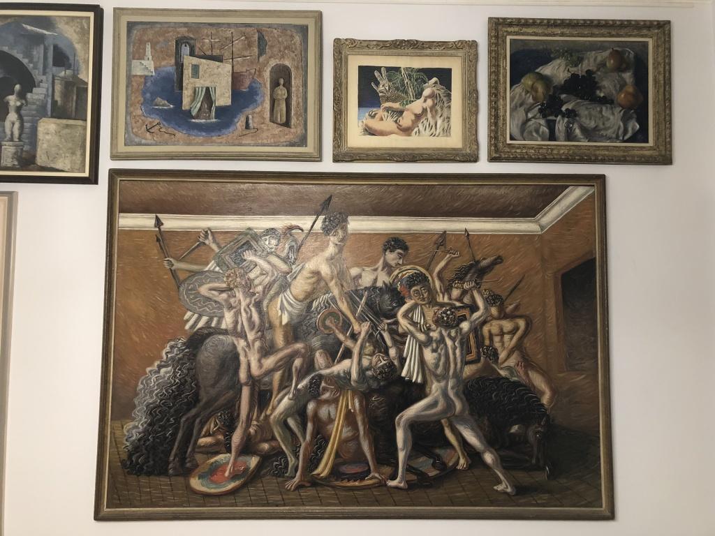 Giorgio De Chirico Casa Museo Boschi Di Stefano