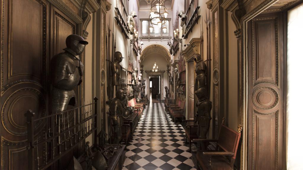 Galleria delle Armi Museo Bagatti Valsecchi