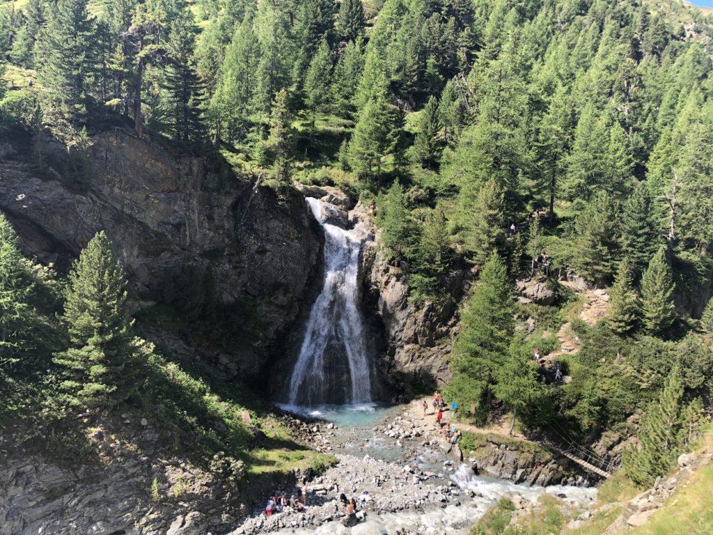 La Cascata della Val Nera