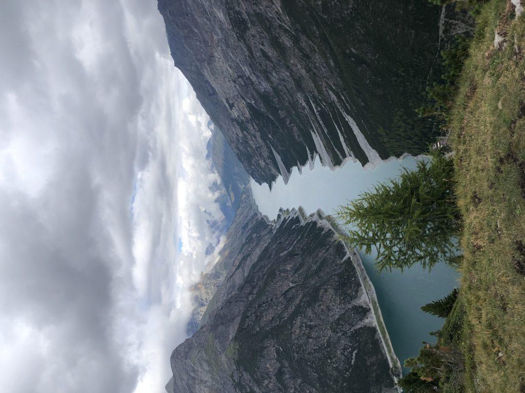 Il lago di Livigno dal Crap de la Parè
