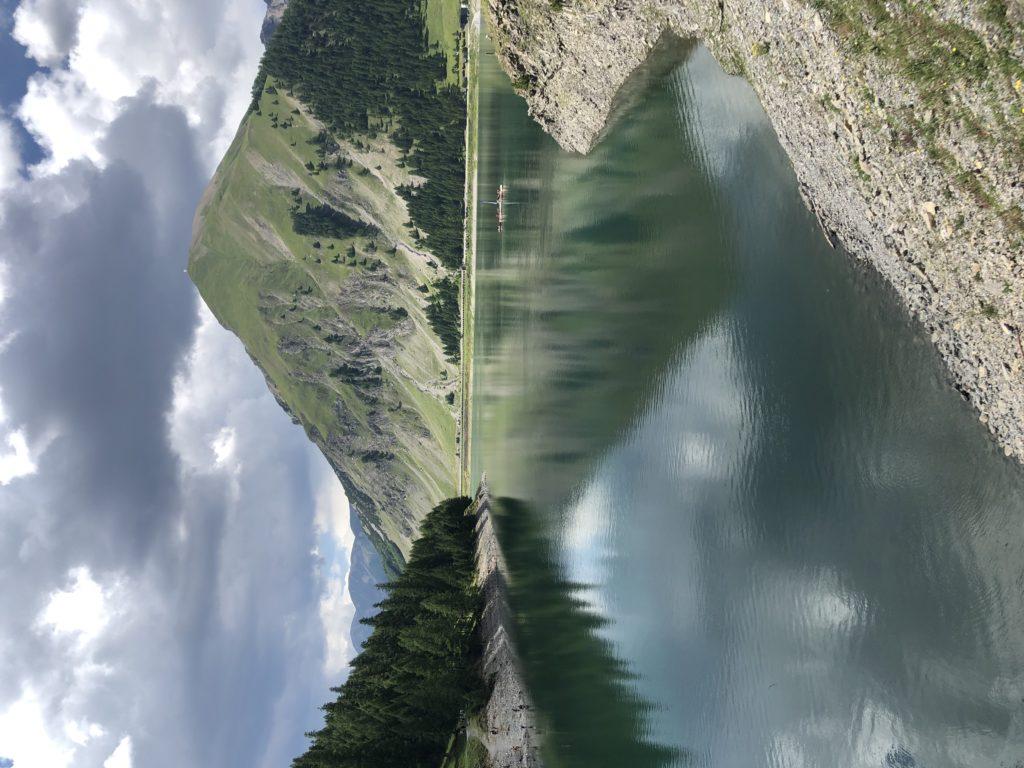 Il lago di Livigno
